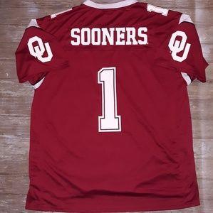 Vintage Oklahoma Sooners Football Jersey size XXL